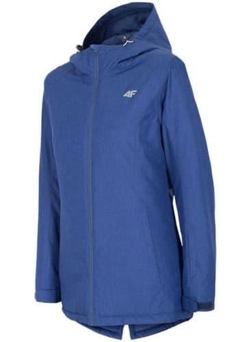 בגדי חורף פור אף לנשים 4F KUDN002 - כחול