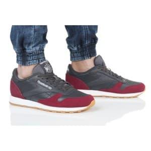 נעליים ריבוק לגברים Reebok CL LEATHER GI - חום