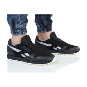 נעלי הליכה ריבוק לגברים Reebok CL LTHR RIPPLE SM - שחור