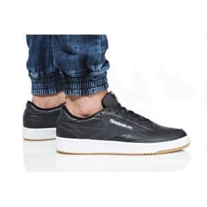 נעלי הליכה ריבוק לגברים Reebok CLUB C 85 ESTL - שחור