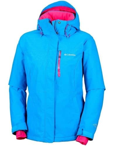 בגדי חורף קולומביה לנשים Columbia Alpine Action - ורוד/טורקיז