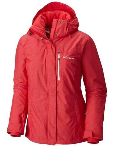 בגדי חורף קולומביה לנשים Columbia Alpine Action - אדום