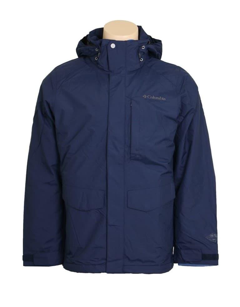 בגדי חורף קולומביה לגברים Columbia Burney Interchange J Collegiate - כחול כהה