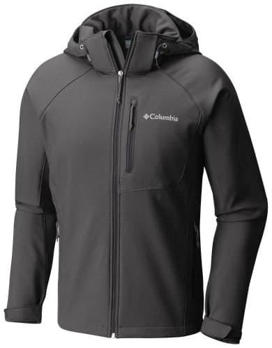בגדי חורף קולומביה לגברים Columbia Cascade Ridge II Softshell - שחור