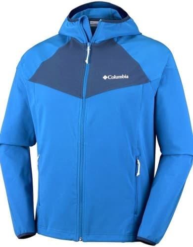 בגדי חורף קולומביה לגברים Columbia Heather Canyon - כחול