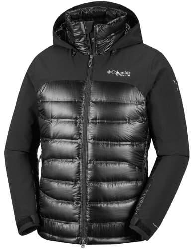 בגדי חורף קולומביה לגברים Columbia Heatzone 1000 Turbodown II - שחור