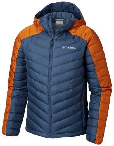 בגדי חורף קולומביה לגברים Columbia Horizon Explorer Hooded - כחול/כתום