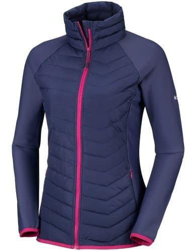 בגדי חורף קולומביה לנשים Columbia Powder Lite Fleece - סגול/כחול