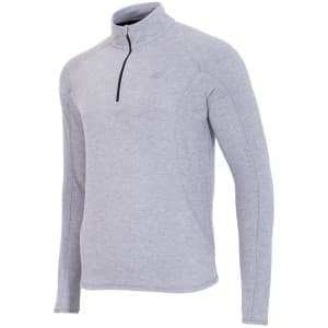בגדי חורף פור אף לגברים 4F BIMP001 - אפור