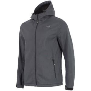 בגדי חורף פור אף לגברים 4F SFM001 - אפור כהה