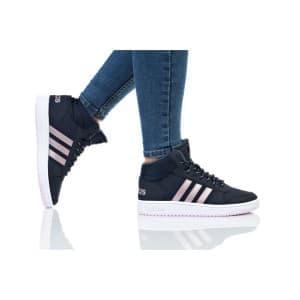 נעליים אדידס לנשים Adidas HOOPS MID 2 - כחול כהה/ורוד