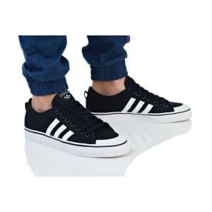 נעליים Adidas Originals לגברים Adidas Originals NIZZA - שחור/לבן