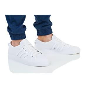 נעליים Adidas Originals לגברים Adidas Originals NIZZA - לבן