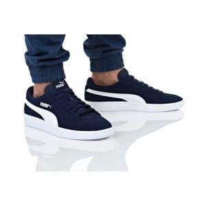נעלי הליכה פומה לגברים PUMA SMASH V2 - כחול/לבן