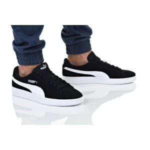 נעלי הליכה פומה לגברים PUMA SMASH V2 - שחור/לבן
