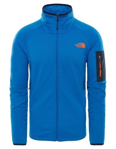 בגדי חורף דה נורת פיס לגברים The North Face Borod Full Zip - כחול