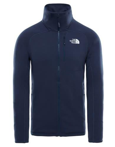 בגדי חורף דה נורת פיס לגברים The North Face Flux 2 Powerstretch - כחול כהה