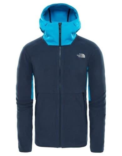 בגדי חורף דה נורת פיס לגברים The North Face Kabru FZ Hoodieurban - כחול כהה