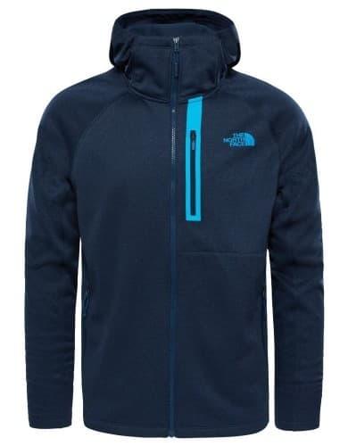 בגדי חורף דה נורת פיס לגברים The North Face Canyonlands Hoodie - כחול כהה