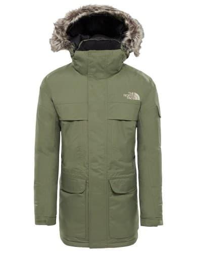 בגדי חורף דה נורת פיס לגברים The North Face Mcmurdo Four Leaf Clovr - ירוק