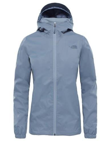 בגדי חורף דה נורת פיס לנשים The North Face Quest Mid - אפור/כחול