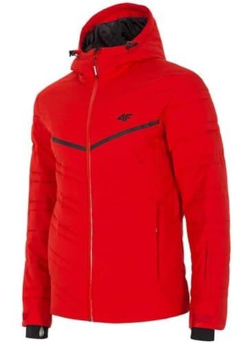 בגדי חורף פור אף לגברים 4F H4Z18 - אדום