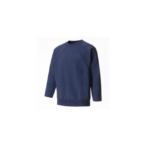 ביגוד אדידס לגברים Adidas Crew Sweatshirt - כחול