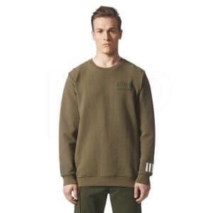 ביגוד Adidas Originals לגברים Adidas Originals MOUNTAINEERING CREW - ירוק