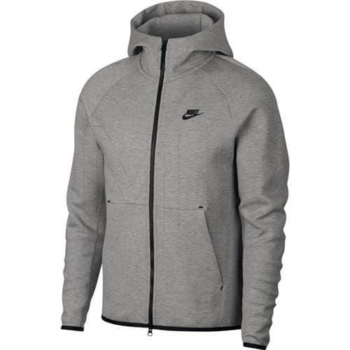 בגדי חורף נייק לגברים Nike Tech Fleece Hoodie FZ - אפור