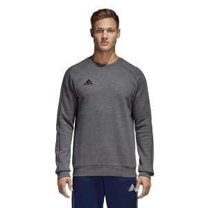 ביגוד אדידס לגברים Adidas CORE18 - אפור