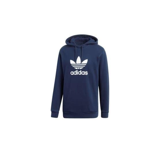 ביגוד Adidas Originals לגברים Adidas Originals Trefoil Hoody - כחול