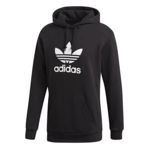 ביגוד Adidas Originals לגברים Adidas Originals Trefoil Hoodie - שחור