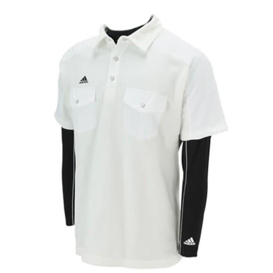 ביגוד אדידס לגברים Adidas Golf - לבן/שחור