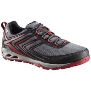 נעליים קולומביה לגברים Columbia Ventrailia Razo TI - אפור/אדום