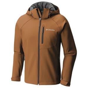 בגדי חורף קולומביה לגברים Columbia Cascade Ridge II Softshell - חום