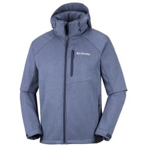 בגדי חורף קולומביה לגברים Columbia Cascade Ridge II Softshell - כחול