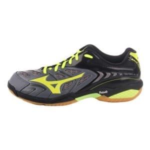 נעליים מיזונו לגברים Mizuno Wave Fang SL - שחור/צהוב