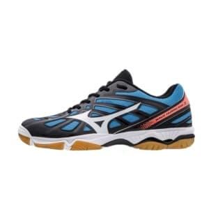 נעליים מיזונו לגברים Mizuno Wave Hurricane 3 - שחור/כחול