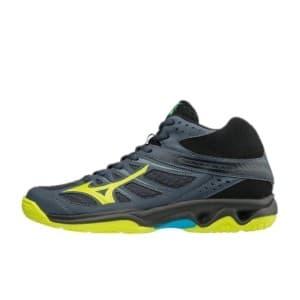 נעליים מיזונו לגברים Mizuno Thunder Mid - כחול/שחור