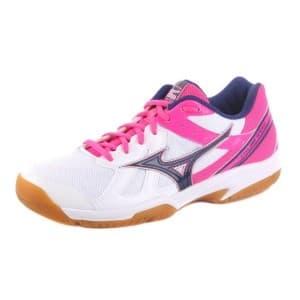 נעליים מיזונו לנשים Mizuno Cyclone Speed - לבן/ורוד