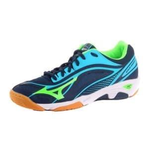 נעליים מיזונו לגברים Mizuno Wave Ghost - כחול/ירוק