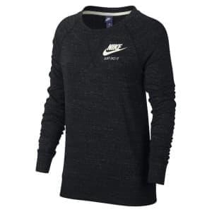 ביגוד נייק לנשים Nike Nsw Gym Vntg Crew - שחור