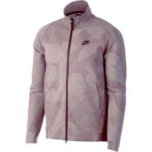 בגדי חורף נייק לגברים Nike Tech Fleece - אפור/ורוד