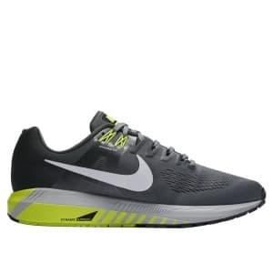 נעליים נייק לגברים Nike Air Zoom Structure 21 - אפור/ירוק