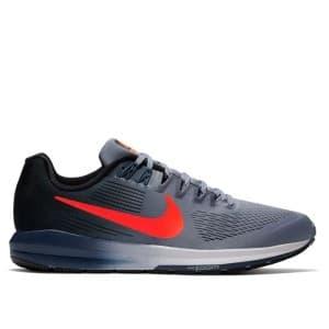 נעליים נייק לגברים Nike Air Zoom Structure 21 - אפור/אדום