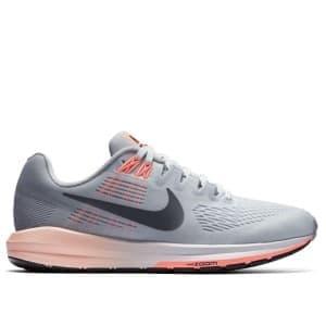 נעליים נייק לנשים Nike W Air Zoom Structure 21 - אפור/כתום