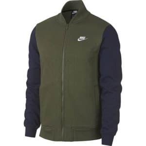 בגדי חורף נייק לגברים Nike Club Bomber - כחול/ירוק