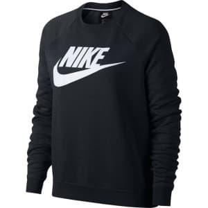 ביגוד נייק לנשים Nike Sportswear Rally Crew - שחור