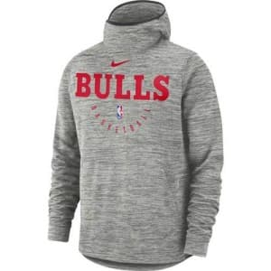 ביגוד נייק לגברים Nike Bulls Spotlight - אפור בהיר