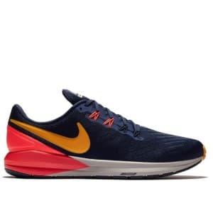 נעליים נייק לגברים Nike Air Zoom Structure 22 - כחול/כתום